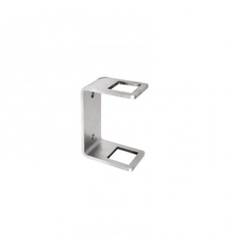 Square post fascia mount bracket