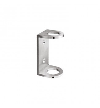 Round post fascia mount bracket