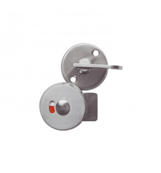 Round lock with color indicator