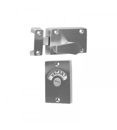 Square lock with word indicator