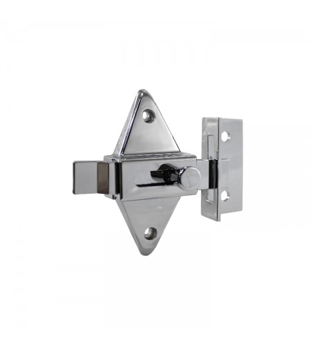 Diamond slide latch