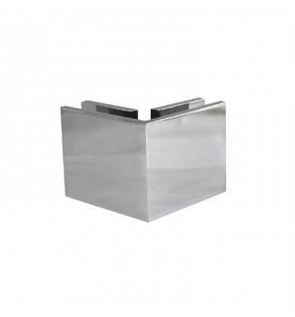 """90° Standard Glass to glass clamp-square (2-7/16"""")"""