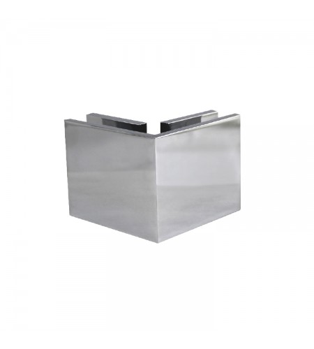 90° Standard Glass to glass clamp-square