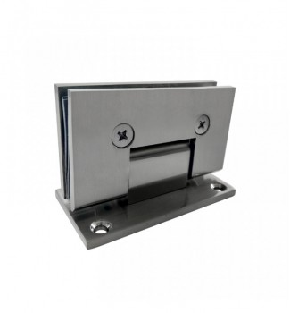 90° Wall Mount Full Back Plate Hinge