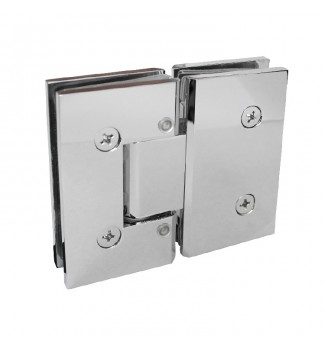 180° Glass-to-glass Hinge Adjustable