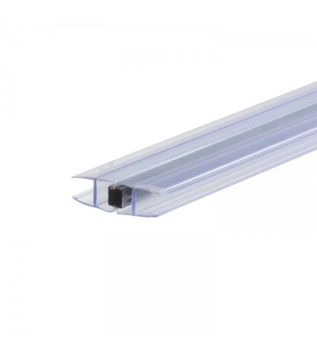 90º Magnetic Glass to Glass door profile