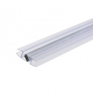 45º Magnetic Glass to Glass door profile