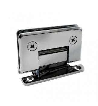 "90° Wall Mount ""H"" Back Plate Hinge"