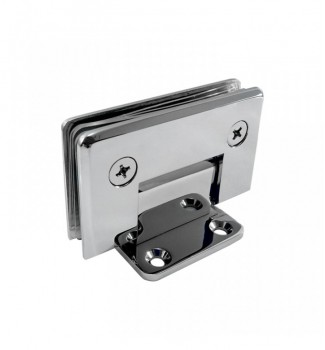 90° Wall Mount Short Back Plate Hinge