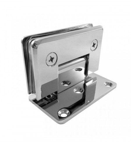 90° Wall Mount Offset Back Plate Hinge