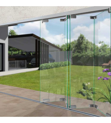 Bi-Folding Glass Wall System VTR-1400
