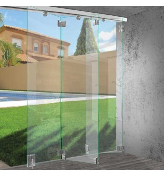 Bi-Folding Glass Wall System VTR-1500