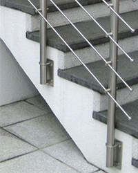 Post Railing System Fascia Mount Brackets