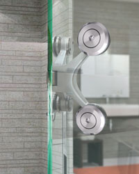 Designer Shower Hinges